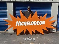 12ft ORIGINAL 80s/90s Nickelodeon Vintage Stage Prop Sign Display