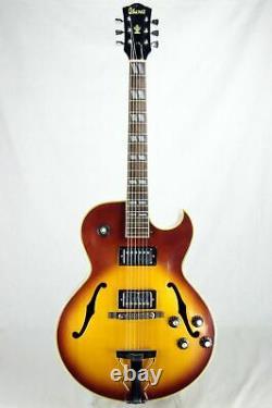 1977 Ibanez 2355 SIGNED M. Sugihara Label Vintage Made in Japan Archtop ES-175 L
