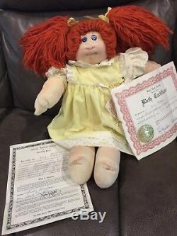 1978 The Little People Collection, hand signed, withoriginal papers cabbage patch