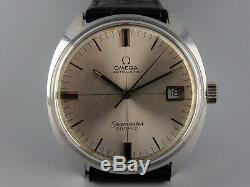 5x signed vintage 1967 OMEGA Seamaster Cosmic automatic watch Crosshair dial