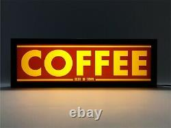 COFFEE Vintage Style LED Light Signs, Light Box USB Powered (11)