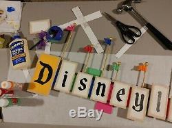 Disney Parks Disneyland Inspired VINTAGE PARK ENTRANCE MARQUEE Large Sign NEW