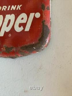 Dr. Pepper Frosty Cold & Thermometer metal sign 16x6