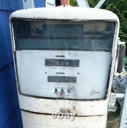 GILBARCO 1006 GAS PUMP EXXON advertising vintage gas station old shop sign