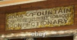 General Store Advertising Sign Vintage Style Large Metal 72