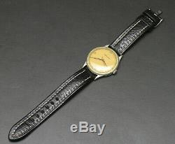 Jaeger LeCoultre JLC P478/C 37mm Stainless Steel Vintage Wristwatch Signed