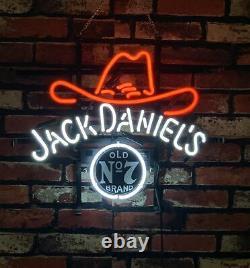 Jk Daaniel's t Vintage Bar Decor Pub Artwork the Neon Sign co Light 17''x14'