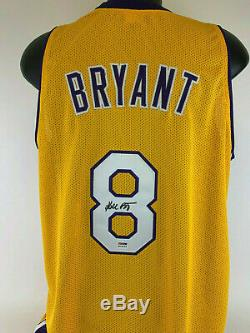 Kobe Bryant Signed Autographed Jersey PSA coa Full name Vintage 2001 autograph