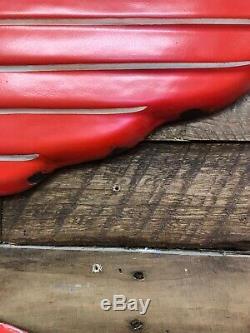 Mobil Oil Pegasus Porcelain Gas Oil Vintage Collectable Decor Sign
