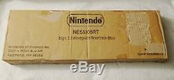 Nintendo Blue Neon Vintage Authentic Noa Sign Display Complete In Box New Sealed
