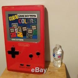 Nintendo Gameboy Pocket Colors Store Display Standee Promo Sign Nintendo VTG NES