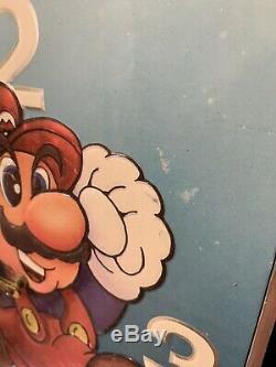 Nintendo NES Vintage Clock Store Display Sign Super Mario Bros. 2