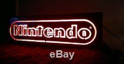 Official Nintendo Superbrite Store Sign NES M37R Dual Side Display Vintage 22912