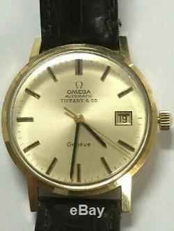 Omega and Tiffany Signed Geneve in 18K