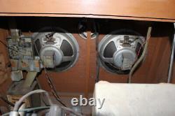 Original Condition Vintage 1954 Seeburg HF100R Select-O-Matic Jukebox Sign WCoin