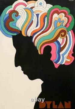 Original Vintage Poster Milton Glaser Bob Dylan 1966