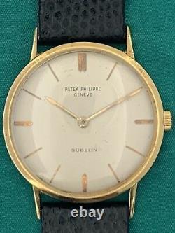 Patek Philippe Vintage Calatrava Ref. 2599 In Yellow Gold Signed Gubelin (243)