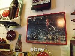 RARE 1980's Nike Michael Air Jordan Shoes Vintage Store Display Neon Sign Basket