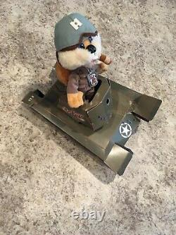 RARE VINTAGE SIGN Conkers Bad Fur Day Live PROMO With TANK RETAIL DISPLAY VTG HTF