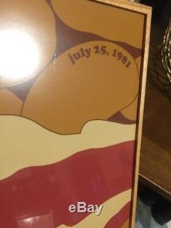 RARE Vintage Herman Miller Summer Picnic Poster Baked Beans 1981 Steve Frykholm