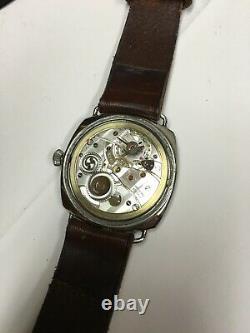 ROLEX / PANERAI Historic Vintage RADIOMIR 3646 with Rolex Cal 618 Signed Case Bk