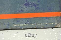 Rare Early Vintage Original Hood Tires Sign Not Porcelain No Reserve