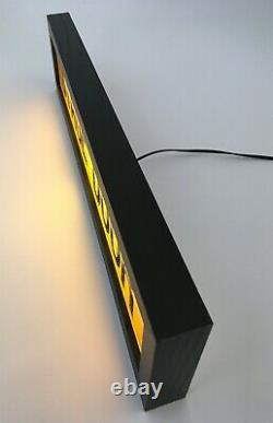 STAGE DOOR 50cm Vintage Style Light Sign, Light Box USB Powered (21)