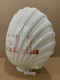 Shell Gas Pump Globe Light Vintage Glass Lens Service Station Garage Sign