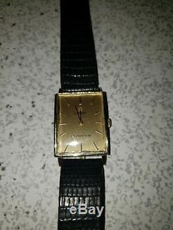 Stunning Vintage 14K Gold Omega Watch with Tiffany & Co. Signed