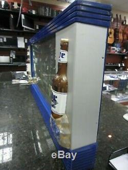 Super Nice! Vintage Miller Lite Motion Light Up Bar Sign Local Pickup Only