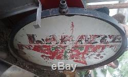 TEXACO Gas Oil Large 2-Sided Service Station Sign 18 Feet Tall ORIGINAL VINTAGE