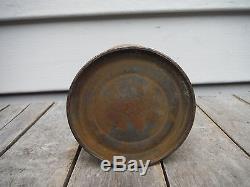 Vintage John Deere Yellow Oiler Oil Can C. Dahl Hammer South Dakota Rare! Sign