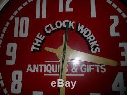 Vintage Neon Clock 26 Advertising Sign Beautiful