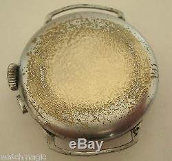 Vintage Rare Gallet Multi Chron Regulator One Button Chronograph Un Signed