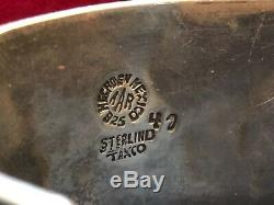 VINTAGE STERLING CUFF BRACELET SIGNED AAR Hechoen Mexico TAXCO 41Antonio Reina