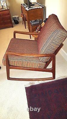 Very Nice Ole Wanscher Rocking Chair John Stuart Signed Both Ways