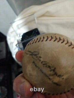 Vintage 1931 Babe Ruth, Lou Gehrig Autographed signed Ball! JSA Certified Auto