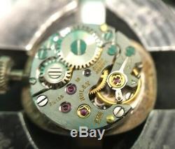 Vintage 1950s Ladies Rolex Precision 18k Gold Cal 1401 18j 5x Signed Watch