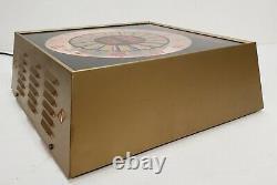 Vintage 1960's RCA TV Radio Service RCA Tubes Lighted Working Clock Dealership