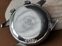 Vintage 1962 Bulova Super-Compressor Diver withMint Dial, Signed Crowns, Runs Strong