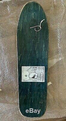 Vintage 1991 New Deal Ed Templeton Skateboard Deck SIGNED RARE