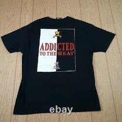 Vintage 2002 Eddie Guerrero Scarface T-Shirt Latino Heat Signed Men Size Large