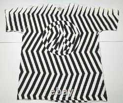 Vintage ANDAZIA MC ESCHER Peace Sign Single-Stitch Mens XL Geometric Rare USA