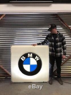 Vintage BMW Dealership Sign 1960s Dealer E9 E28 E30 RARE FREE SHIPPING