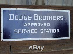 Vintage Dodge Brothers Porcelain Sign