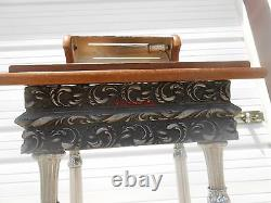 Vintage Funeral Home Sign In Podium Stand