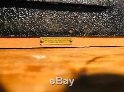 Vintage Grain Belt Beer Reverse Glass Back Bar Lighted Sign