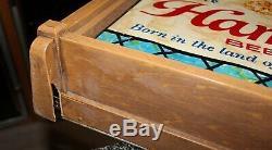 Vintage Hamm's Advertising Beer Scene O Rama Motion Sign Light Rare 5.5' Long