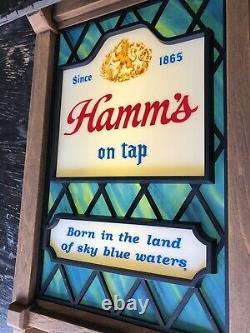 Vintage Hamms Beer Sceneorama Motion Sign