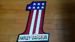 Vintage Harley Davidson Motor Oil Porcelain Enamel Sign FRAUDULENT SELLERS/ITEMS